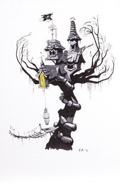 the nightmare before christmas tree - Google Search