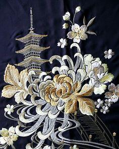 китайская хризантема вышивка: 6 тыс изображений найдено в Яндекс.Картинках