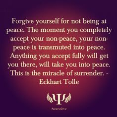 Surrender and embrace obstacles in your life