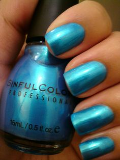 Sinful Colors - Love Nails --OWN it. I love this color. It's bright without being neon.