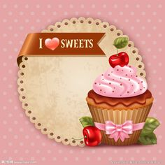 Find cupcakes stock images in HD and millions of other royalty-free stock photos, illustrations and vectors in the Shutterstock collection. Cupcake Illustration, Cupcake Logo, Cupcake Art, Cupcake Vintage, Cupcake Drawing, Dessert Logo, Muffins Blueberry, Cranberry Muffins, Cherry Cupcakes