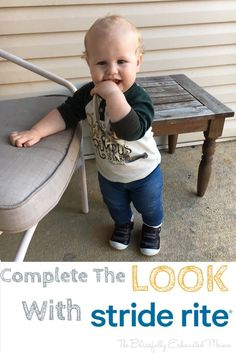 Product Review: Complete the Look with Stride Rite! – The Blissfully Exhausted Mama