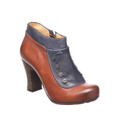 3c866cfe13571 ... Gold Button Cuero Leather Ankle Boot ELLA Shoes Vancouver Womens  Leather Boots Shoes Online authentic quality ...