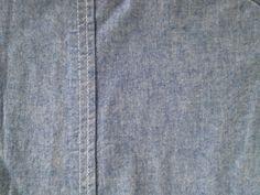 Ralph Lauren Solid Light Chambray Blue Vintage King Flat Sheet Euc - Sheets & Pillowcases