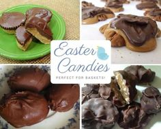 Fill the Easter basket with homemade Easter candy this year!