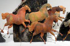 STEFI GRUENBERG - HORSES