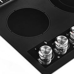 """Black 30"""" Electric Downdraft Cooktop with 4 Elements KCED600GBL   KitchenAid Major Kitchen Appliances, 4 Element, Electric Cooktop, Ventilation System, Us Map, Kitchenaid, Sweet, Black, Candy"""