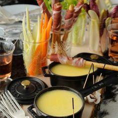 Mini fondue aux légumes