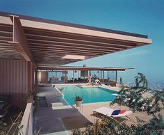 Doesn't get much more Mid Century Modern than this house
