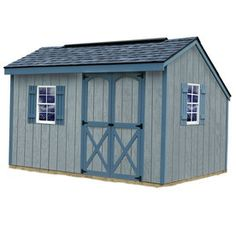 Best Barns Saltbox Engineered Wood Storage Shed (Common: 8 Ft X 12