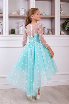 Baby Girl Dresses Diy, Baby Girl Birthday Dress, Dress For Girl Child, Princess Flower Girl Dresses, Cute Dresses For Party, Gowns For Girls, Girls Dresses, Frock Patterns, Baby Dress Patterns