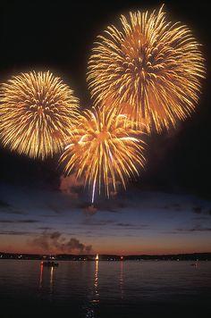 Lake Champlain Fireworks by John Burk Lake Champlain Fireworks by John Burk Lake Champlain Photograph - Lake Champlain Fireworks by John Burk<br> Lake Champlain Fireworks Photograph by John Burk Lake Champlain, Fireworks Pictures, Fireworks Gif, 4th Of July Fireworks, Art Fractal, Fireworks Photography, Fire Works, Bonfire Night, Nouvel An
