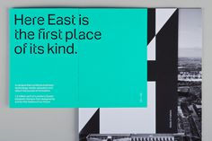 Here East Brochure. dn&co.