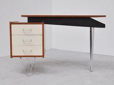 Desk designed by Cees Braakman for Pastoe in 1958