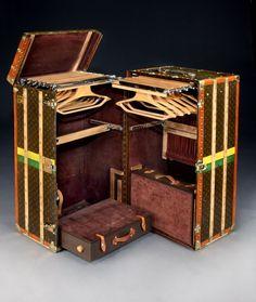 'Malle Armoire' (wardrobe trunk) by Louis Vuitton 2