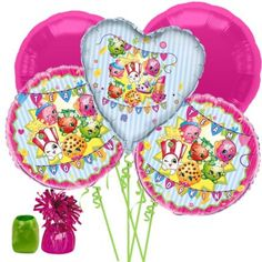 Shopping for Shopkins Balloon Bouquet Kit for your next party? Browse Birthday in a Box for the popular and party ideas and discount prices.
