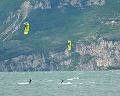 kite-surfer - Garda lake