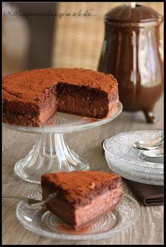 Gateau magique au chocolat... mmmmm à tester rapidement !
