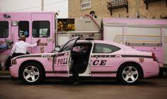 Pink Police Car!!!!!!!!!!!