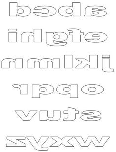 Free Printable Block Letters and Titles