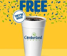 Get a Free drink at your local Cumberland Farms location on Christmas day! Your choice of coffee, cappuccino, hot chocolate, or tea, any size! Plus, add a shot of peppermint or gingerbread to your beverage at no charge!  Available 12/25/16 from 8am – noon,  http://ifreesamples.com/free-drink-cumberland-farms-christmas-day/