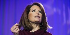 Rep. Michele Bachmann (R-Minn.) continued her effort on Saturday to tank a potential 2016 presidential bid by Hillary Clinton, telling the crowd at the Conservative Political Action Conference that a woman should eventually be president -- but not th...