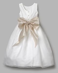 Looks like the flower girl dress at the bridal store & cheaper at Bloomingdales...who knew?