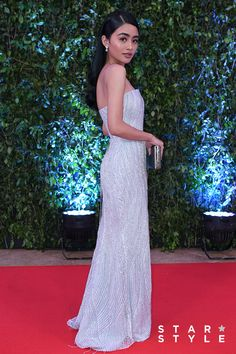 ABS CBN Ball 2018 Red Carpet  Vivoree Esclito Star Fashion, Fashion Outfits, Michael Cinco, Princess Ball Gowns, Red Gowns, Prom Dresses, Formal Dresses, Celebrity Outfits, Red Carpet