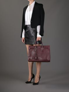 large sac de jour burgundy - Google Search