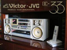 victor dc-33 boombox