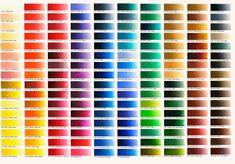 Classic Oil Colours | colour chart | Old Holland Classic Colours