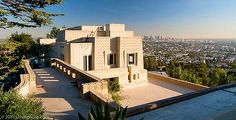 "Ennis House (1924) built by Frank Lloyd Wright and featured in ""Bladerunner"""