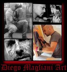 Semino pensieri accidentali...semplicemente Zed72: Diego Magliani artista