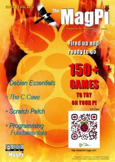 MagPi - Magazine for Raspberry Pi Users (awesome!)