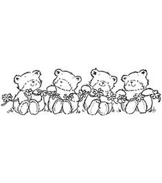 """Penny Black Rubber Stamp 1.75""""X5""""-Playtime: stamps: stamping: scrapbooking: Shop 