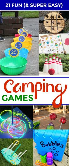 Camping with children? 21 Camping Games & Activities Kids Love Camping with children? 21 Camping Games & Activities Kids Love Camping with children? 21 Camping Games & Activities Kids Love Camping with children? Camping Ideas, Family Camping Games, Camping Bedarf, Camping Snacks, Camping Parties, Camping Theme, Camping Crafts, Outdoor Camping, Camping Checklist