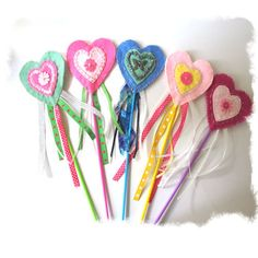 Pink Fairy Princess Wand Princess Party door MelsCreativeWishes, $7,50