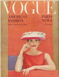Fashion Magazine Covers Were So Much More Glamorous In The 1950s