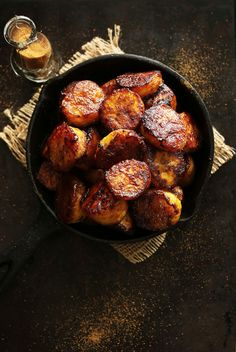 AMAZING Coconut Sugar Caramelized Plantains! Easy, DELICIOUS and #vegan #glutenfree