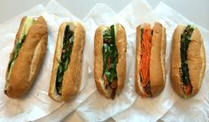 Because the Houston Press office is in Midtown, I eat a lot of bánh mì. Need a light lunch? Bánh mì. In a hurry? Bánh mì. Craving meat, veggies and carbs? Bánh mì. Want something spicy? Bánh mì. It's my go-to meal to satisfy just about any lunchtime criteria. Unfortunately...
