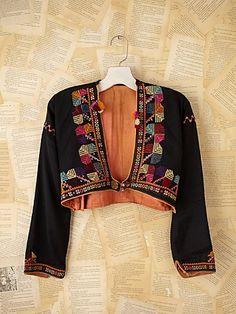 Syrian Silk Jacket.