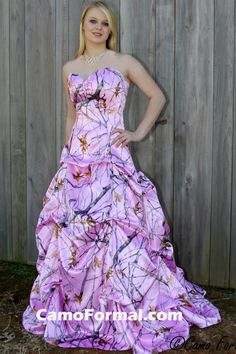 Pink Camo Wedding Dresses | ... Oak New Breakup Attire Camouflage Prom Wedding Homecoming Formals