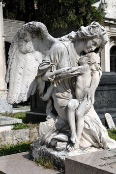 Angel references for book ༺/\༻  Monumental Cemetery of Staglieno, Genoa, Italy