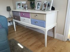Hand painted stag dressing table/sideboard by David glover now sold ...