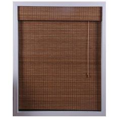 @Overstock.com - Ginger Bamboo Roman Shade (41 in. x 74 in.) - Distinguish your home or office with these ginger Roman shades of natural bambooRoman blinds filter light in a way that is warm and appealingWindow treatment is made with real bamboo and other environmentally friendly materials  http://www.overstock.com/Home-Garden/Ginger-Bamboo-Roman-Shade-41-in.-x-74-in./3297368/product.html?CID=214117 $49.99