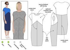 Confessions of a Sewing Novice: Dress #2: StyleArc Mila (and a quick repeat top)