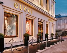 Gucci flagship boutique, Petrovka Moscow, Russia, open in October 2014 Boujee Aesthetic, Aesthetic Pictures, Workshop Fotografia, Mall Facade, Luxury Store, Luxe Life, Shop Fronts, Facade Design, Store Design