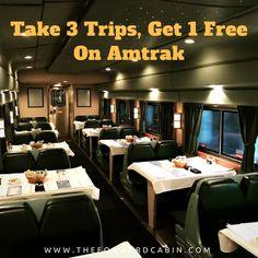 Take 3 Trips, Get 1 Free on Amtrak