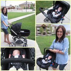 SixSistersStuff.com is giving away a JJ Cole Newport Car Seat and Broadway stroller (a $650 value!). Come stop by to enter! #giveaway #baby #stroller #carseat