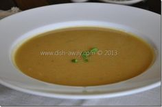 Red Lentil Soup Middle Eastern Style  Simple, filling, yummy. Perfect for cold weather days:)  fore recipe http://www.dish-away.com/2013/01/red-lentil-soup-recipe.html  happy eating:)